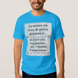 La natura più vera: passione puntini sospensione shirts