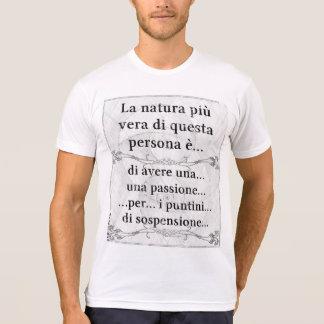La natura più vera: passione puntini sospensione tee shirt
