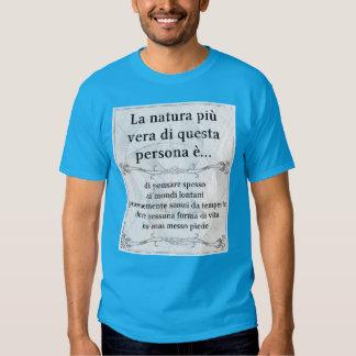 La natura più vera... pianeta alieno tempeste t-shirt