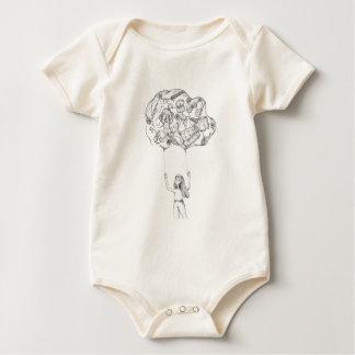 La nuvola dei ricordi baby bodysuit