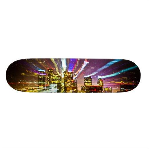 LA on Acid Skate Board