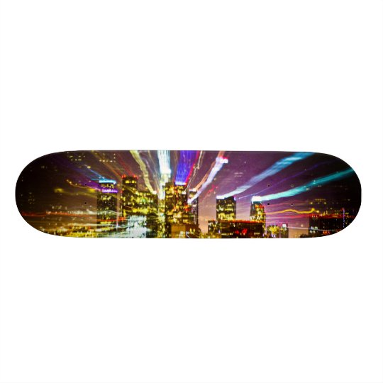 LA on Acid Skate Board