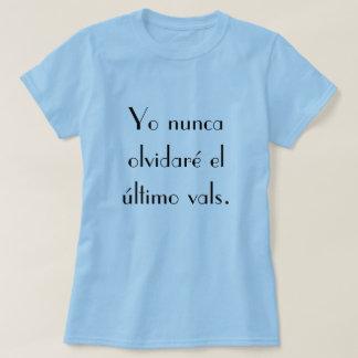 La Oreja De Van Gogh El Ultimo Vals Tee Shirt