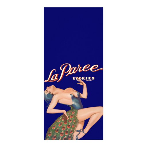 La Paree Stories Rack Cards