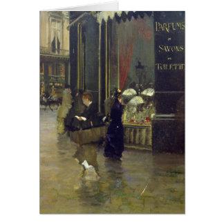 La Parfumerie Viollet, Boulevard des Capucines Greeting Cards