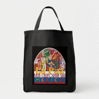 LA PAZ Mexico Grocery Tote Bag