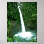 La Paz Waterfall, Costa Rica Print