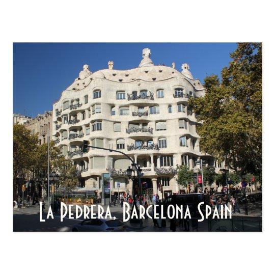 La Pedrera by Gaudi Barcelona Spain Postcard