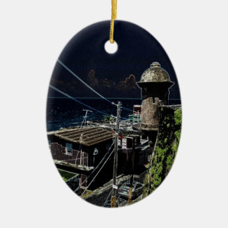 La Perla, Old San Juan Christmas Ornament