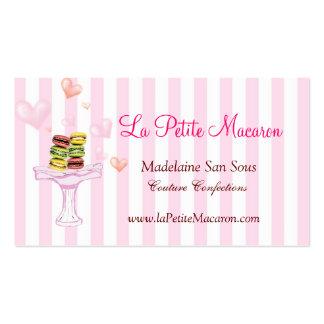 La Petite Macaron Business Card