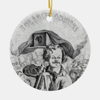 'La Photographie, Nadar (1820-1910) le grand (!!!. Christmas Ornament