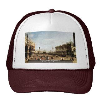 La Piazzetta By Canaletto Cap