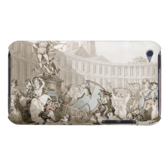 La Place des Victoires, Paris, c.1789 (pen and ink iPod Case-Mate Cases