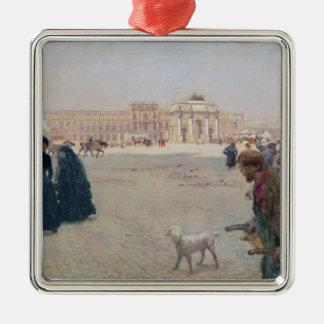 La Place du Carrousel, Paris Christmas Ornament