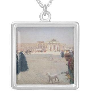 La Place du Carrousel, Paris Silver Plated Necklace