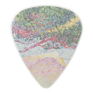 La Plage de Saint-Clair, 1906-07 Acetal Guitar Pick