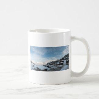 La Plagne Basic White Mug