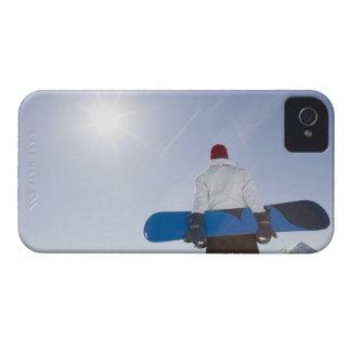 La Plagne, French Alps, France Case-Mate iPhone 4 Cases