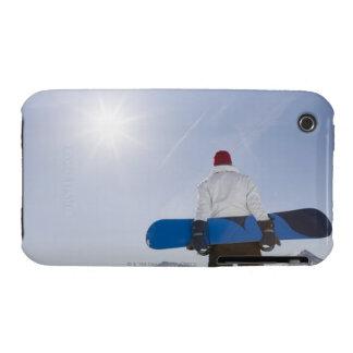 La Plagne, French Alps, France iPhone 3 Case