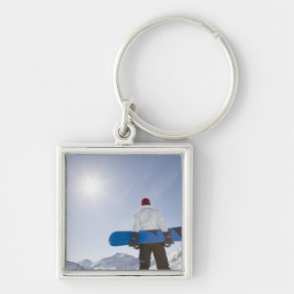 La Plagne, French Alps, France Key Ring