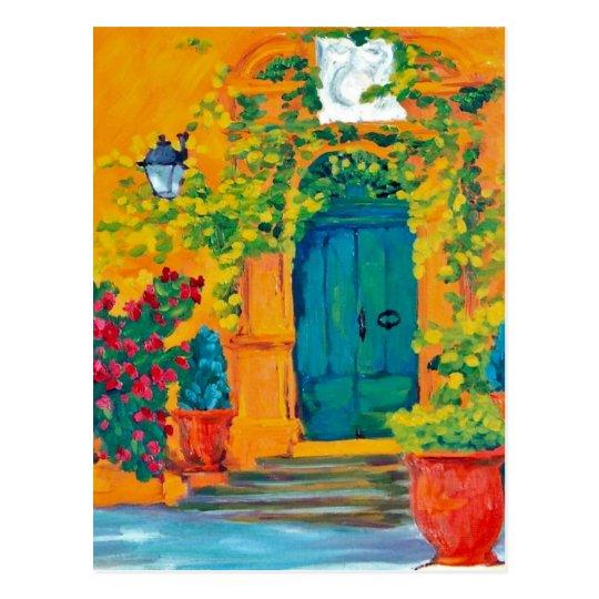 la Porte de Château du Seuil Postcard