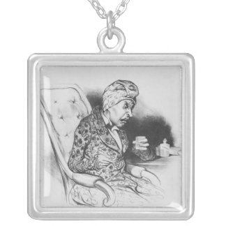 La Potion, Draught, from 'Galerie Silver Plated Necklace