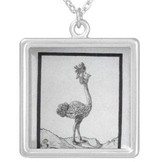 La Poulle d'Autriche' Silver Plated Necklace