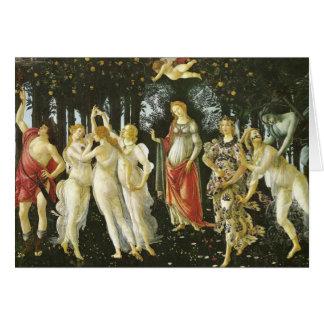 La Primavera by Sandro Botticelli Card