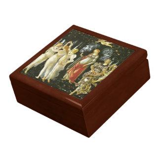 La Primavera by Sandro Botticelli Large Square Gift Box