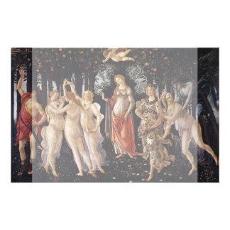 La Primavera (Spring) by Sandro Botticelli 14 Cm X 21.5 Cm Flyer