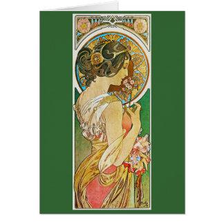 La Primevere, Mucha Card