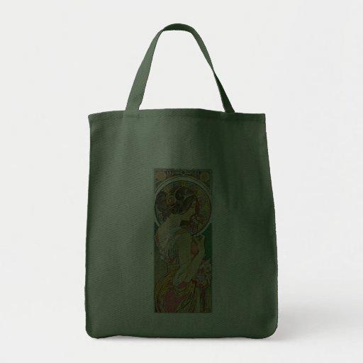 La Primevere, Mucha Grocery Tote Bag