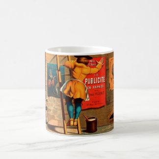 La publicité en France par Emile Mermet Basic White Mug