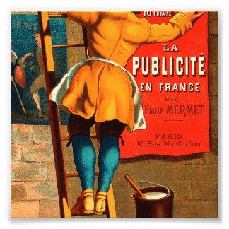 La publicité en France par Emile Mermet Photographic Print
