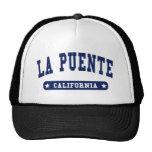 La Puente California College Style tee shirts Trucker Hat