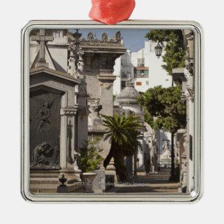 La Recoleta Cemetery in Buenos Aires Christmas Ornament