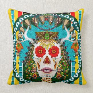 La Reina De Los Muertos (Queen of the Dead) Pillow