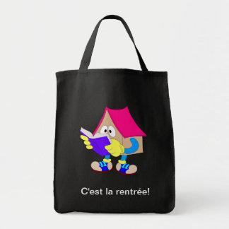 La Rentrée des classes Grocery Tote Bag