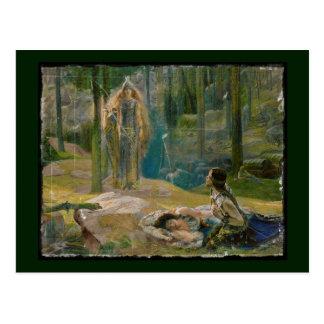 La Revelation Brunhilde Postcard