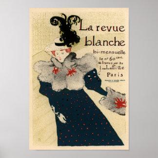 La Revue Blanche Poster
