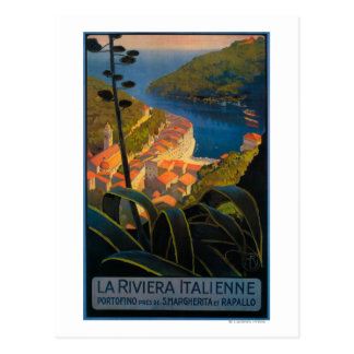La Riviera Italienne Post Card