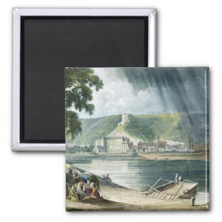 La Roche, from 'Views on the Seine', engraved by T Magnet