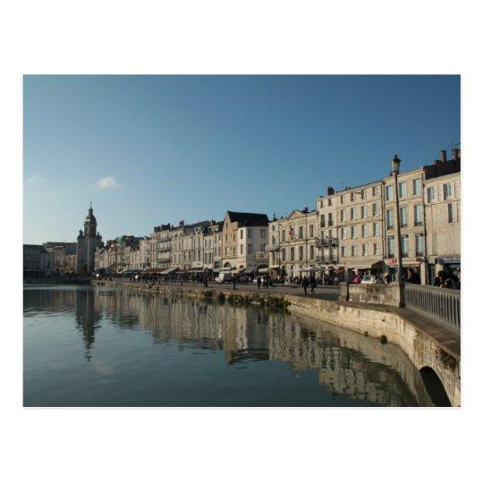 La Rochelle - a Winters Day Postcard