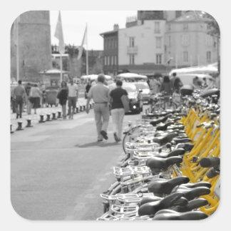 La Rochelle Bikes Square Sticker