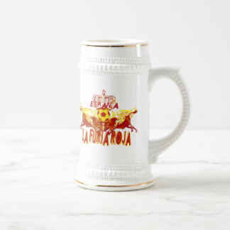 La Roja Twin Toros Raging Bulls futbol kings Beer Steins