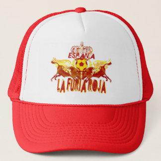 La Roja Twin Toros Raging Bulls futbol kings Trucker Hat