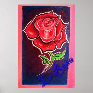 la rosa print