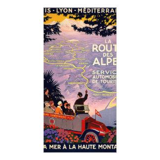 La route des Alpes Photo Card