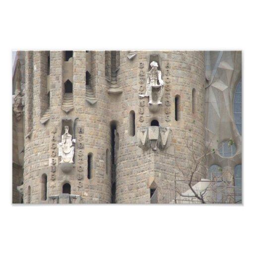 La Sagrada Família, Barcelona Photograph