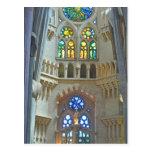La Sagrada Familia Church Postcard